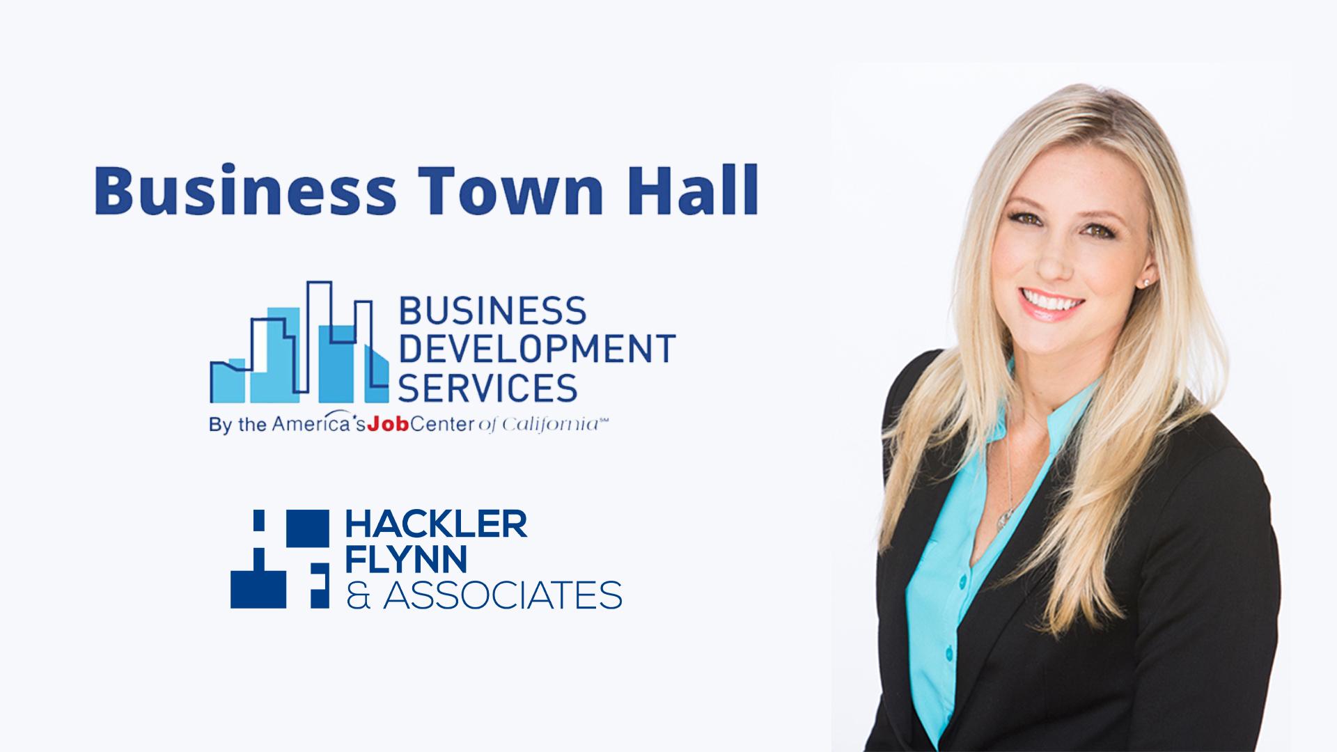 Hackler Flynn AJCC Business Town Hall
