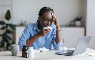 Sick Businesswomen Sb1159