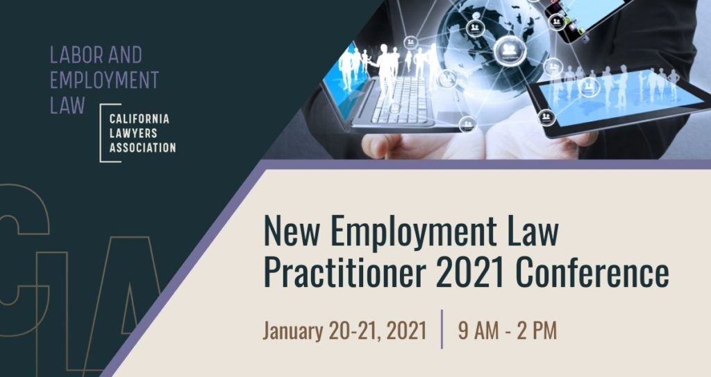 2021 NEW EMPLOYMENT LAW PRACTITIONER