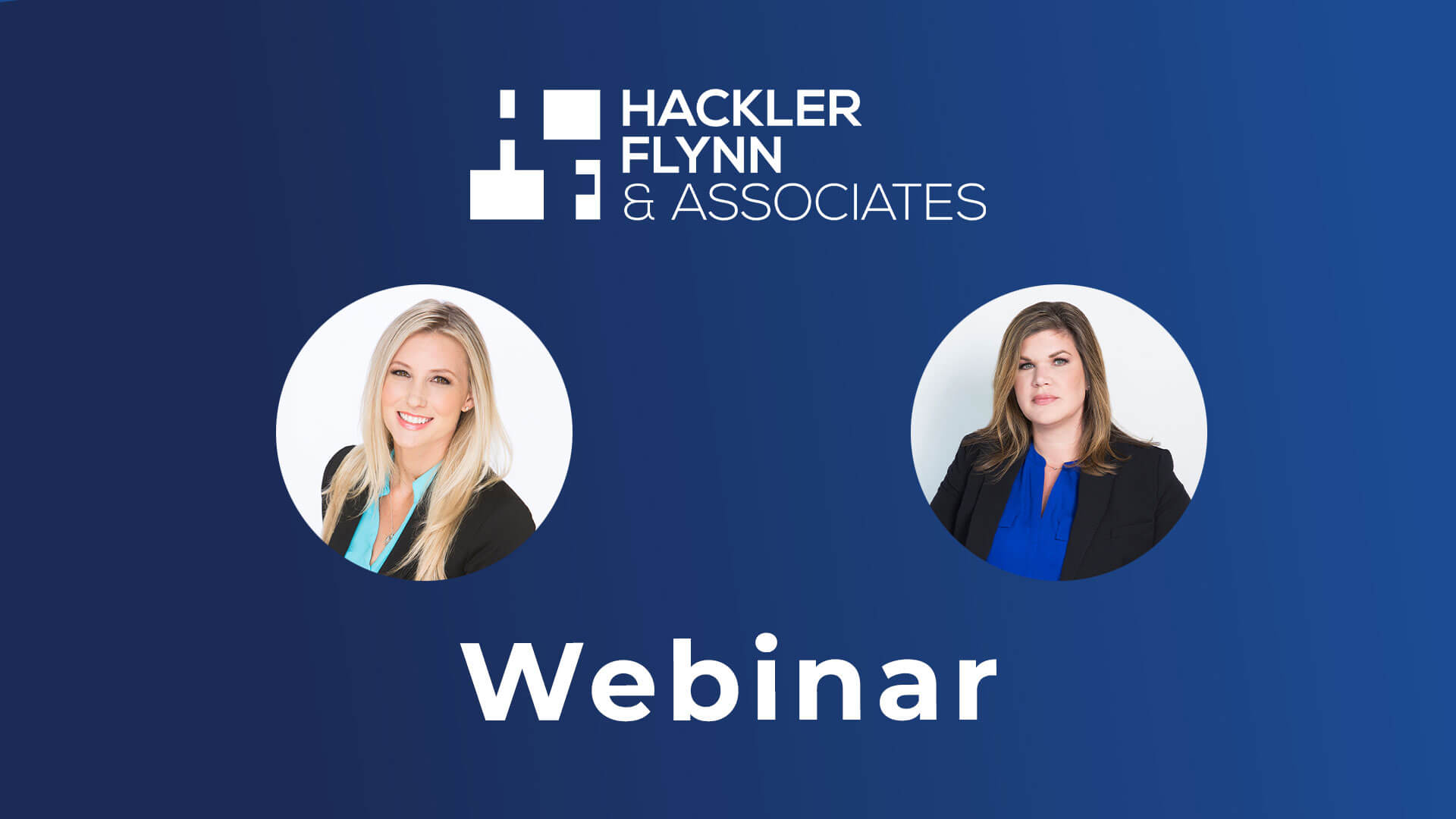 Hackler Flynn & Associates Webinar Cindy Michelle