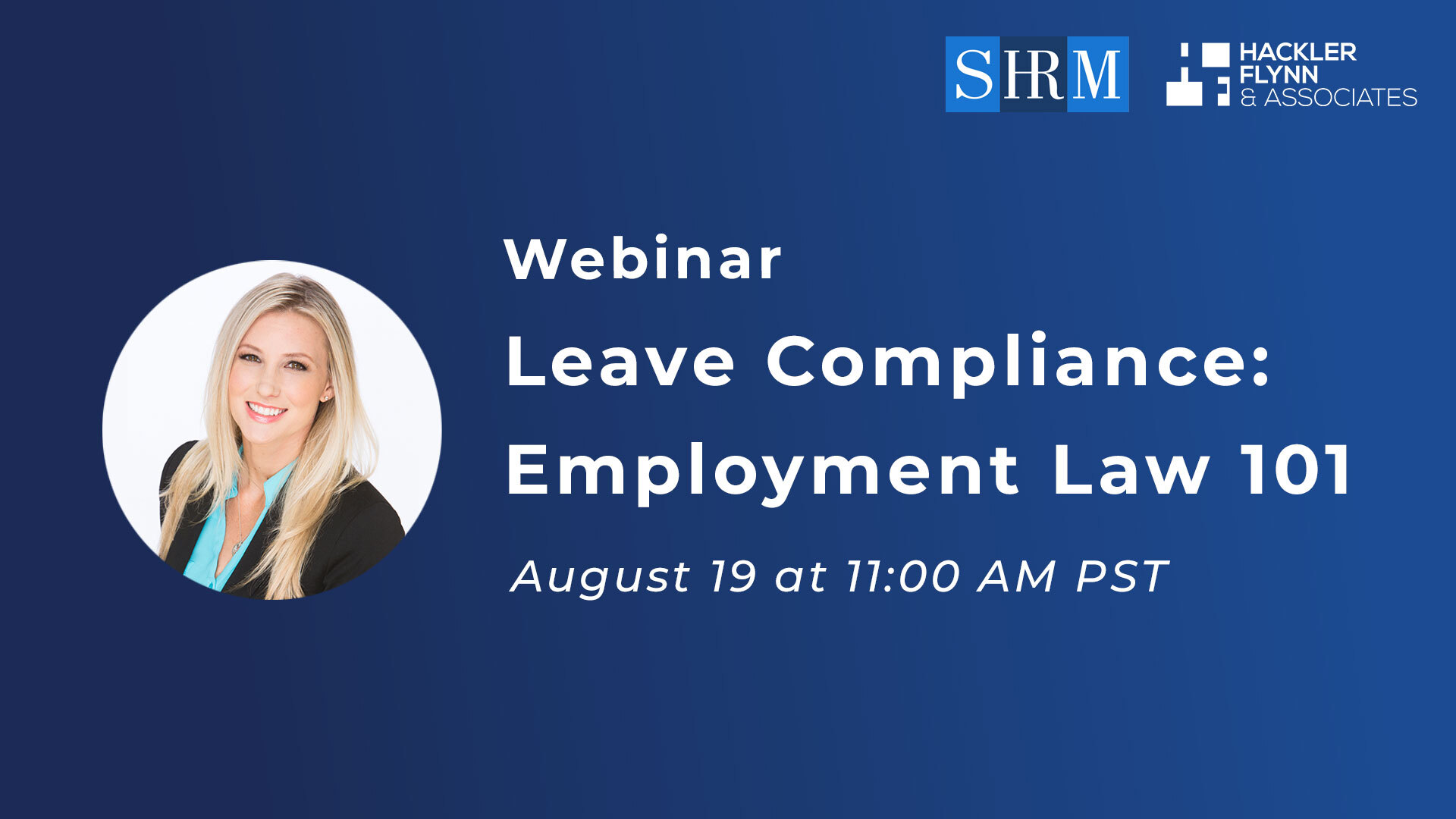Leave Compliance SHRM Webinar