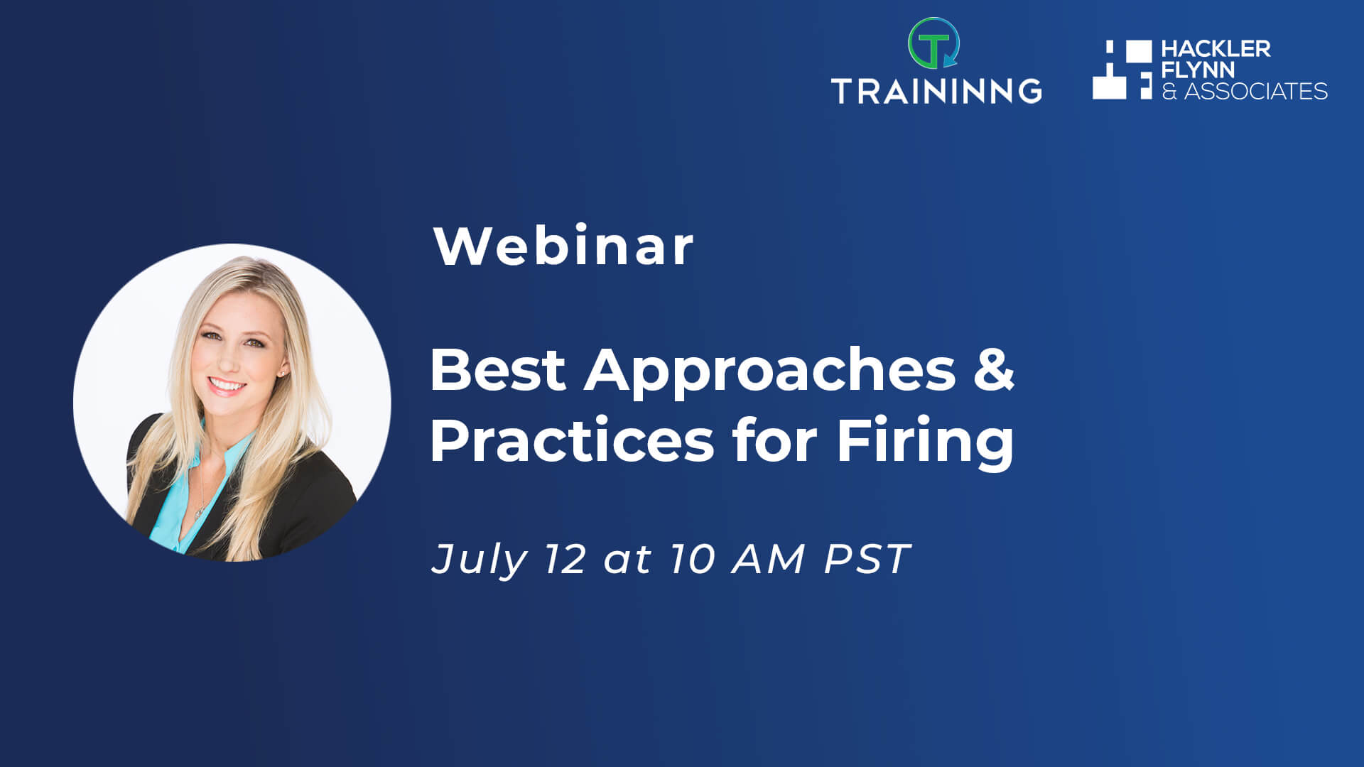 Webinar Graphic for Best Firing Practices