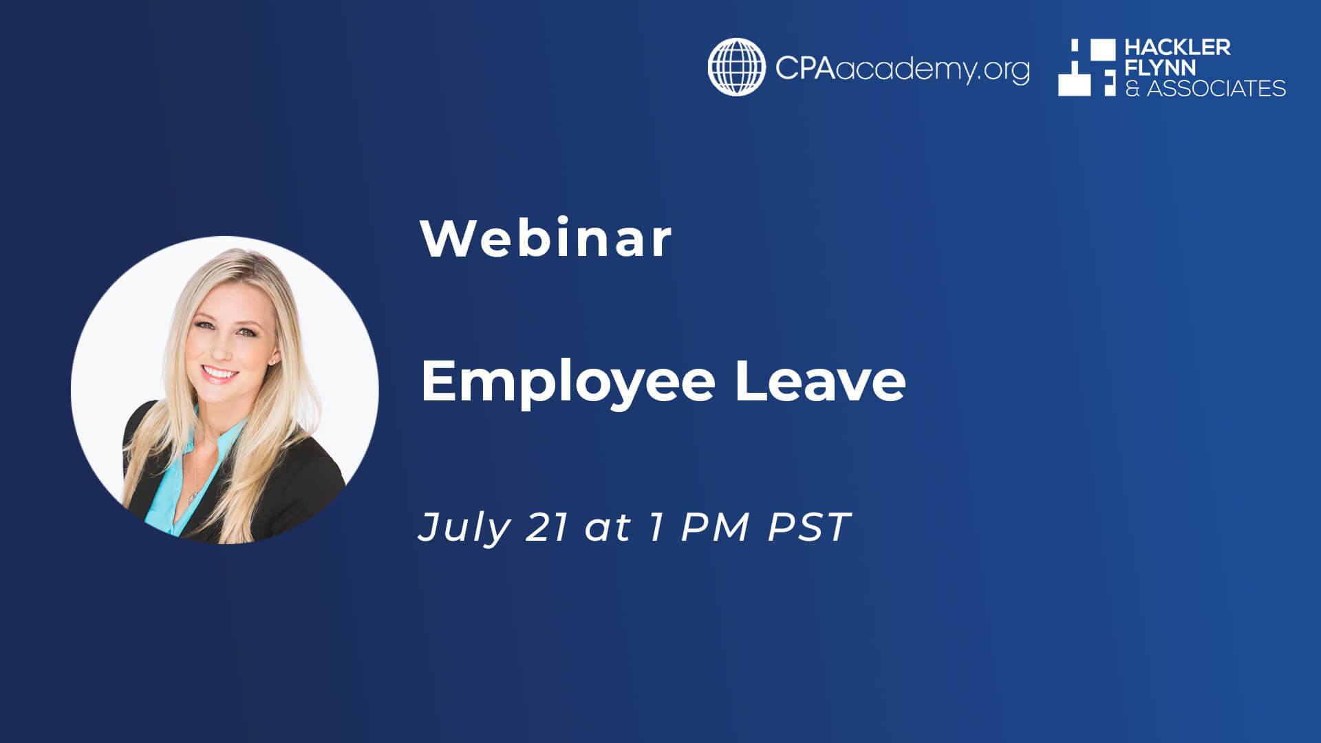 Webinar Graphic for Employee Leave